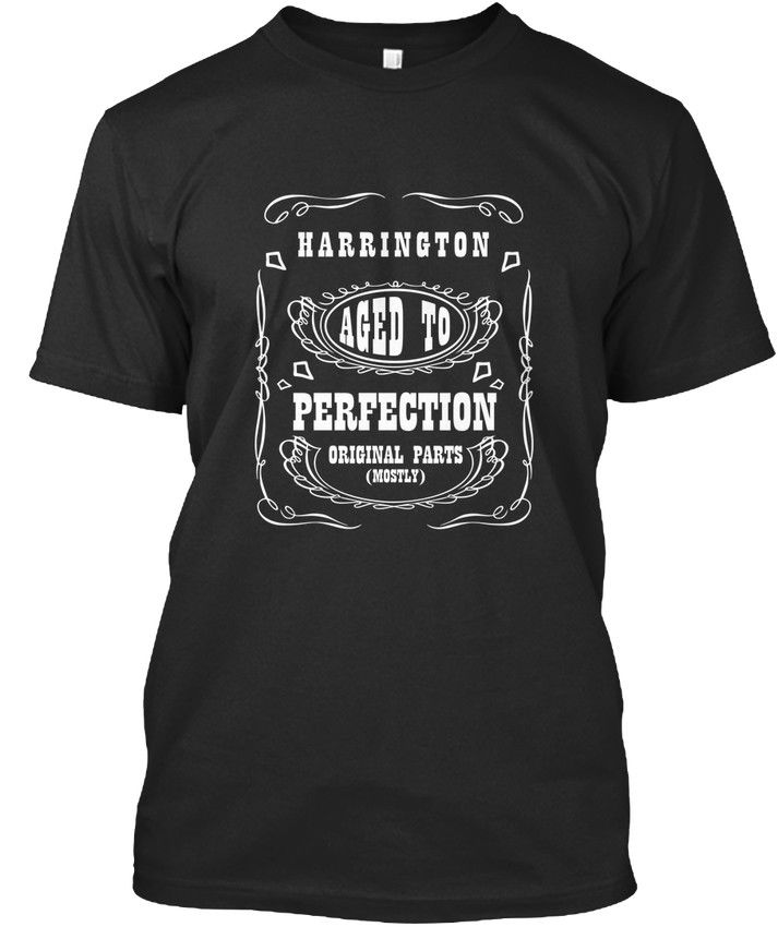 Harrington Perfection Için Yaşlı Premium Tee T-Shirt