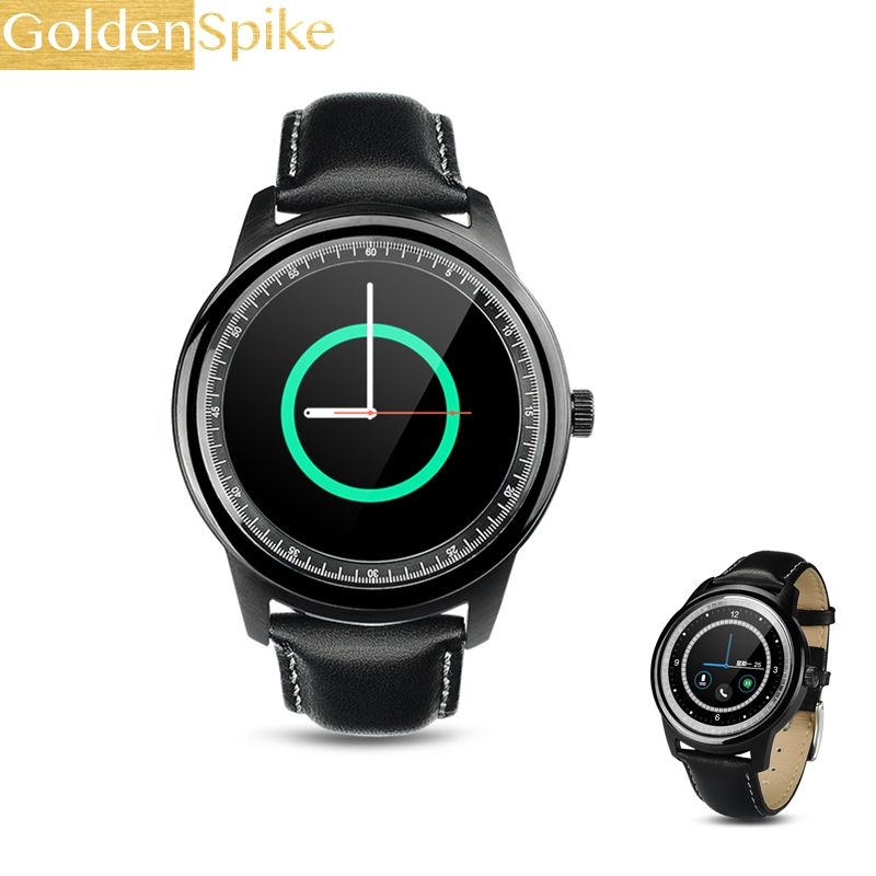 Full HD IPS Ekran Smartwatch DM365 Lüks Bluetooth Smart İzle Kol Iphone Samsung S4/Not 2/3 Huawei Sony Xiaomi